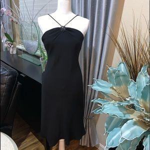 Jones Wear cocktail black dress